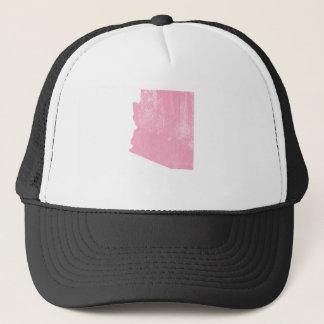 Casquette Grunge vintage rose de l'Arizona
