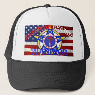 Casquette Guerrier païen américain--Police