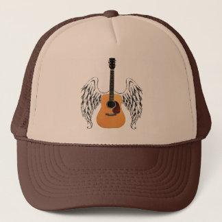 Casquette Guitare acoustique à ailes