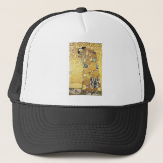Casquette Gustav Klimt - l'étreinte - illustration classique