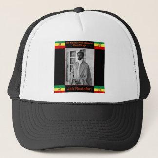Casquette Haile Selassie le lion de Judah, Jah Rastafari
