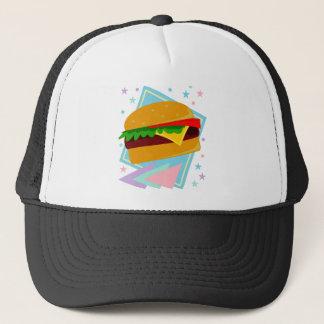 Casquette Hamburger délicieux mignon