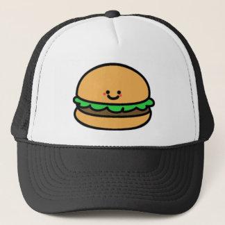 Casquette Hamburger heureux