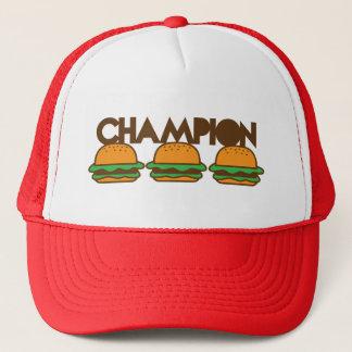 Casquette HAMBURGERS de CHAMPION yum !
