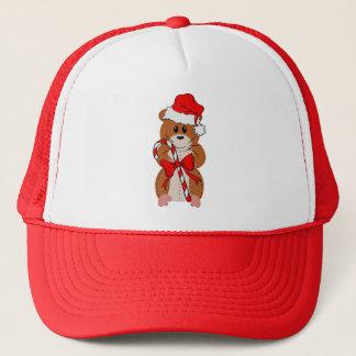 Casquette Hamster de Noël