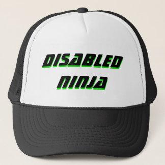 casquette handicapé de trucke de ninja
