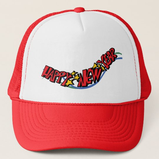 Casquette Happy new year -