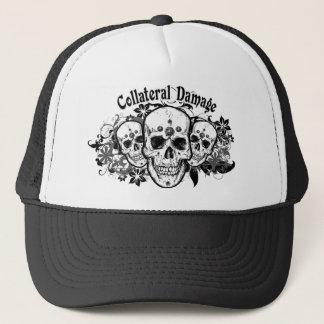 Casquette hawaïen de camionneur de crânes de dégât