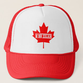 Casquette Hein feuille d'érable du Canada d'équipe