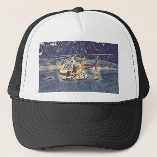 Casquette Hélicoptère artistique frais