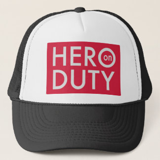 Casquette Hero on Duty
