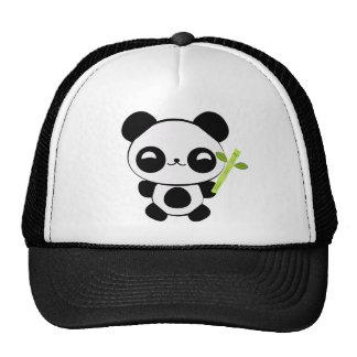 Casquette heureux de panda de bébé