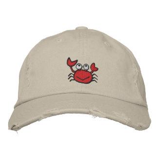 casquette heureux mignon de crabe