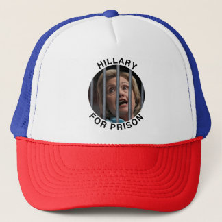 Casquette Hillary pour la prison