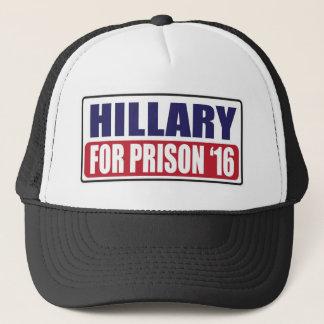 Casquette Hillary pour la prison 2016