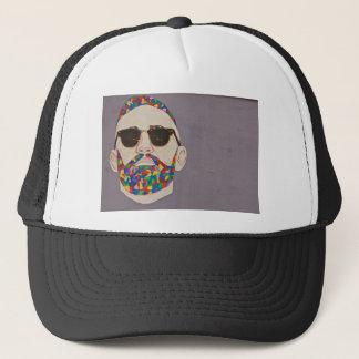 Casquette Hippie de barbe d'arc-en-ciel