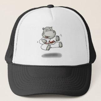Casquette Hippopotame de karaté