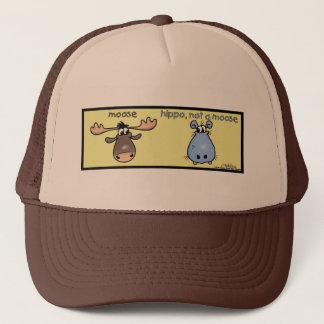Casquette Hippopotame-non-un-orignaux !