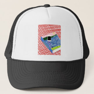 Casquette Hockney style