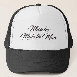 Casquette Homme de Maketh de muscles - séance d'entraînement