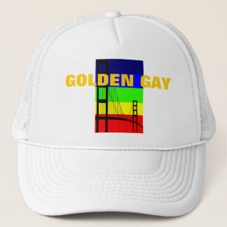 Casquette Homosexuel d'or - Golden Gate