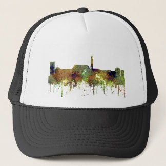 Casquette Horizon de Cheyenne Wyoming - cuir épais de safari