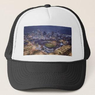 Casquette Horizon de ville de Denver et champ de Coors la