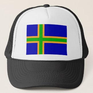 Casquette Hôte de symbole de drapeau de région du Danemark