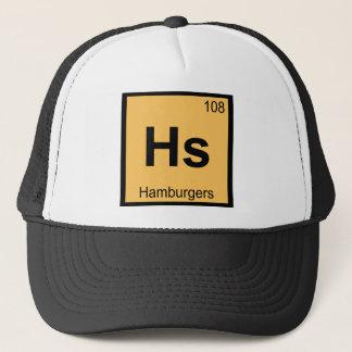 Casquette HS - Symbole de Tableau périodique de chimie
