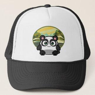 Casquette Huez comme habillement de panda