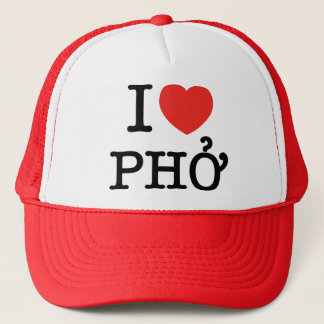 Casquette I coeur (amour) Pho