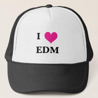 Casquette I coeur EDM