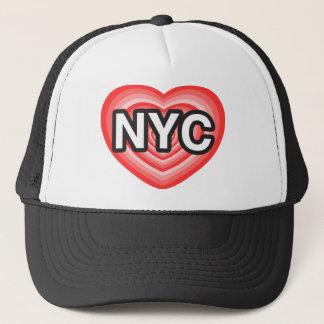 Casquette I coeur NYC. J'aime NYC. New York City. I coeur NY