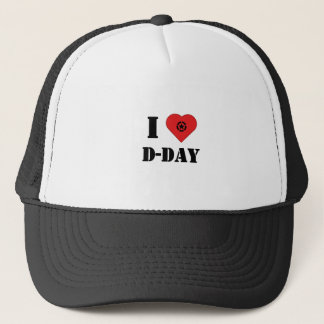 Casquette I love D-Day