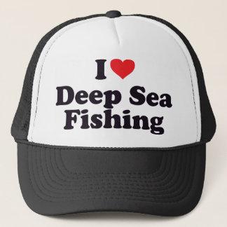 Casquette I pêche maritime profonde de coeur