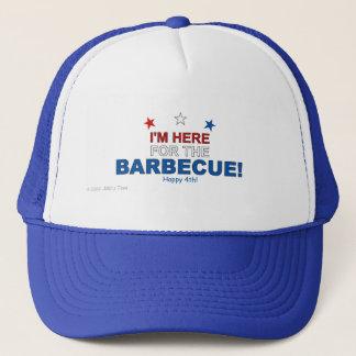 Casquette Ici pour le barbecue