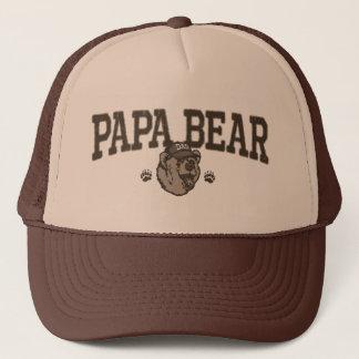 Casquette Idées de cadeau d'ours de papa pour le papa
