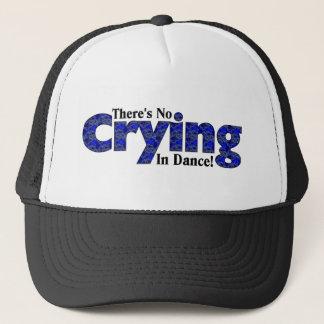 Casquette Il n'y a aucun pleurer dans la danse