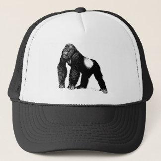 Casquette Illustration vintage de gorille de Silverback,