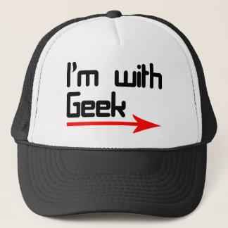 Casquette Im avec le geek