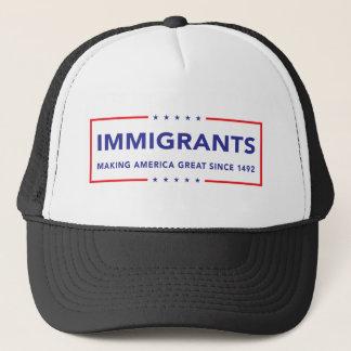 Casquette Immigrés