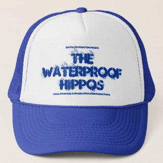 Casquette imperméable officiel d'hippopotames
