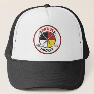 Casquette indigène d'hockey