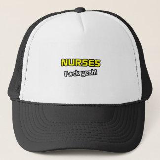 Casquette Infirmières… F-CK ouais !