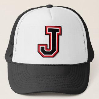 """Casquette Initiale du monogramme """"J"""""""