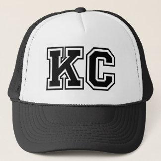 """Casquette Initiales du monogramme """"kc"""""""