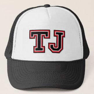"""Casquette Initiales du monogramme """"TJ"""""""