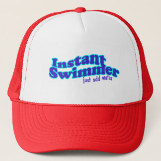 Casquette instantané de nageur
