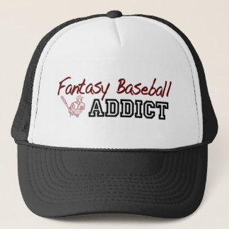Casquette Intoxiqué de base-ball d'imaginaire