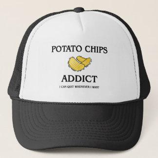 Casquette Intoxiqué de pommes chips